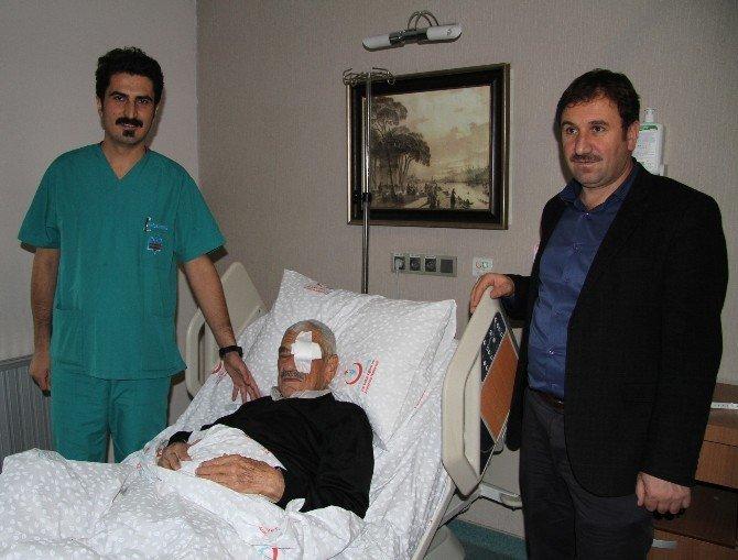 FETÖ'den alınan hastanede ilk ameliyat