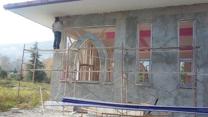 Kırkpınar mescidi ibadete açılıyor