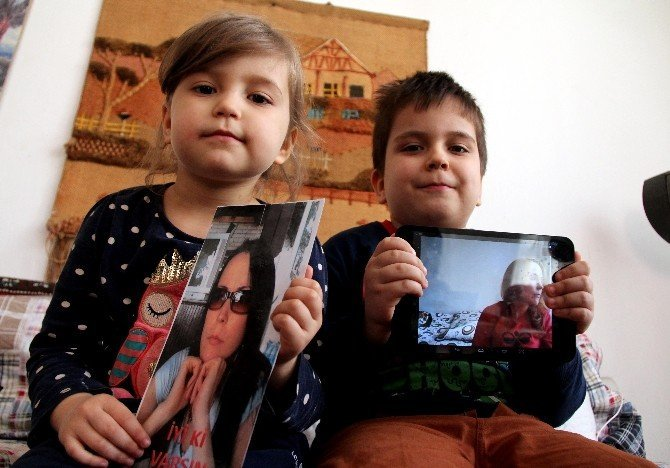 Küçük Yüsra ve Tahir, sınır dışı edilen annelerini istiyor