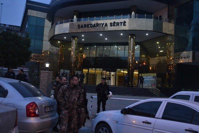Siirt Belediyesine operasyon düzenlendi