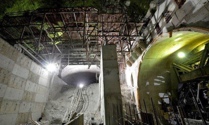 Dünyanın en yüksek 3. barajında yüzde 59,34 fiziki gerçekleşme sağlandı