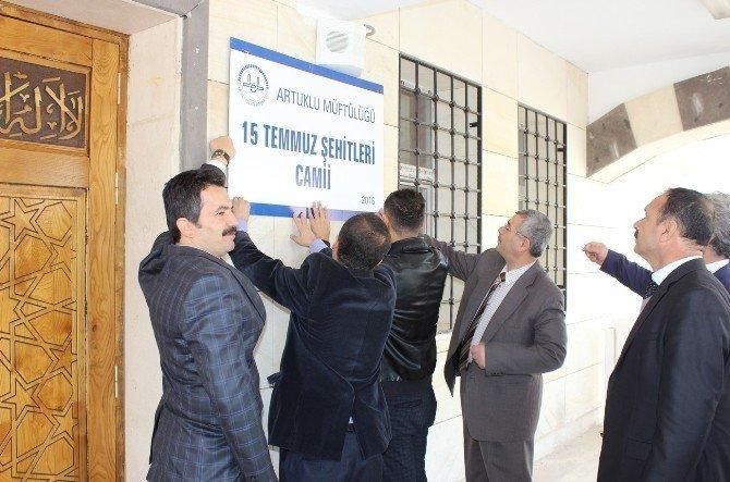 Mardin'de cami ve Kur'an kursu açılışı yapıldı