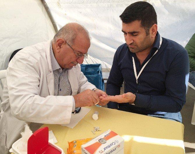Vatandaşlara ücretsiz sağlık taraması