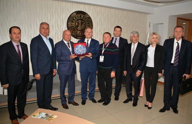 Ukraynalı sanayiciler Adana'da