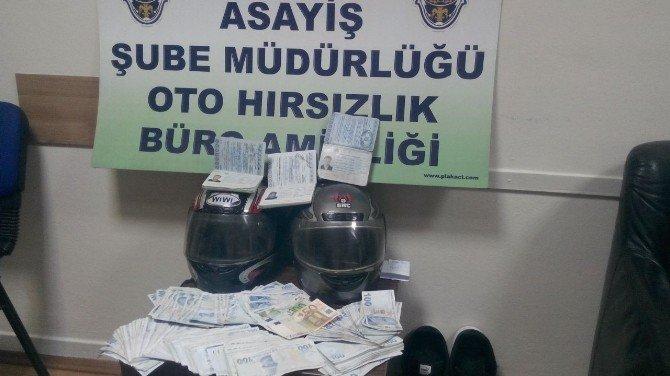 2 Suriyeli hırsız yakayı ele verdi