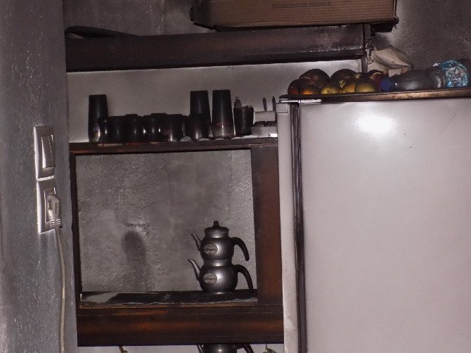 Karacasu'da ev yangını: 1 ölü