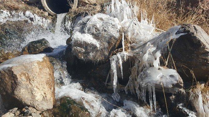 Dondurucu soğukla gelen güzellik