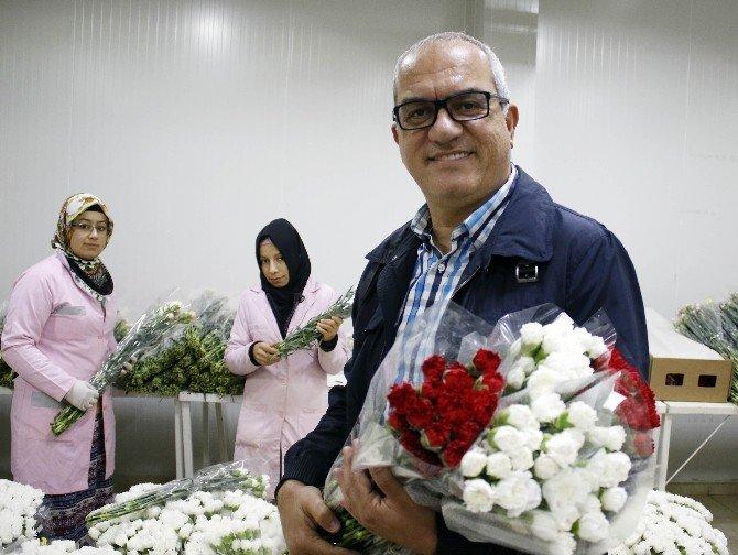 Öğretmenlerin çiçekleri TEOG'a takıldı