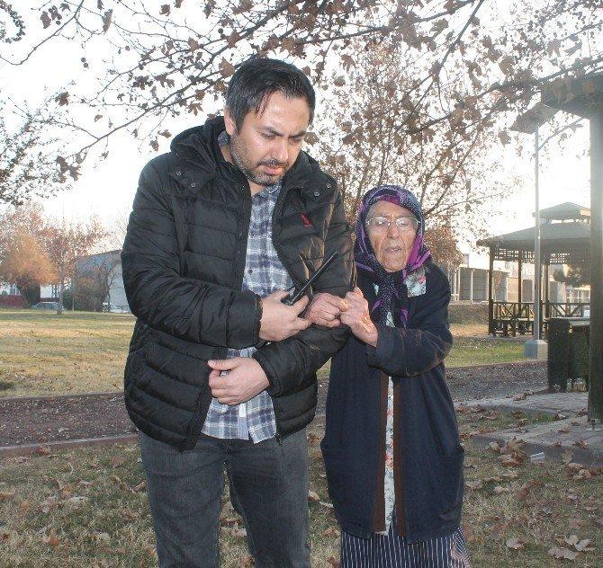 90 yaşındaki kadının 480 bin lirasını dolandırdılar