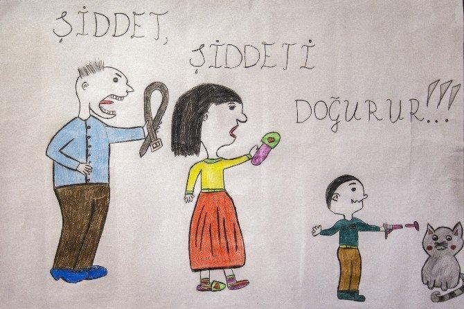 Çocuk gözüyle kadına şiddet