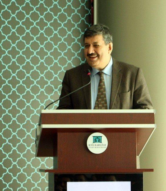 KTO Karatay Üniversitesi, bilim insanlarını öğrencilerle buluşturuyor