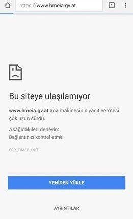 Türk hacker'lardan Avusturya Dışişleri Bakanlığına ambargo