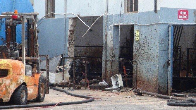 Fabrikada patlama: 1 ölü, 1 yaralı