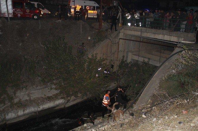Sulama kanalında can pazarı: 2 ölü