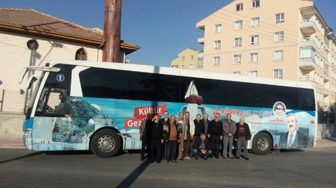 """""""Kültür Gezileri"""" kapsamında Konya'yı gezdiler"""