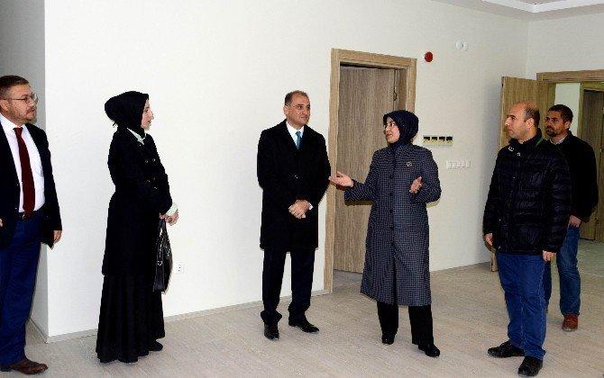 Meram'da, Altuncan Hatun Aile Yaşam Merkezi inşaatı tamamlandı