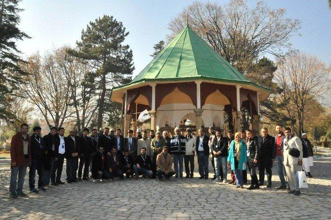 Yabancı seyahat acente yetkilileri Akşehir'de