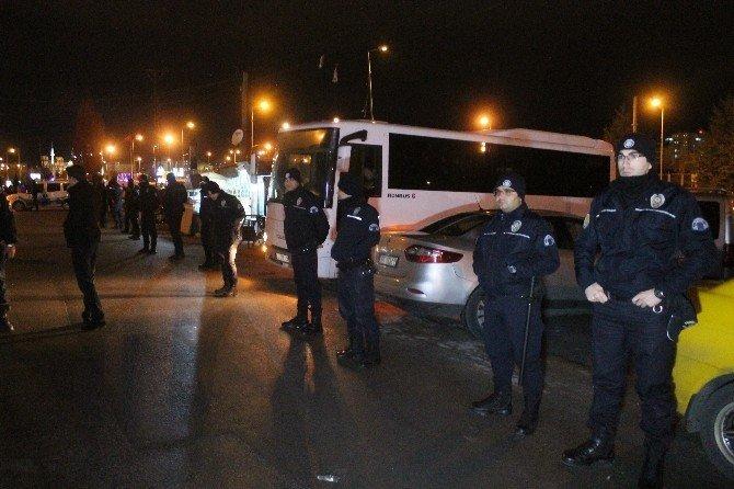 """Konya'da  450 polisle """"Huzur Uygulaması"""""""