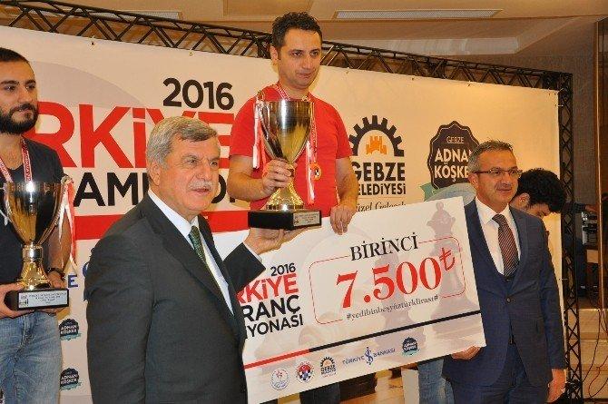 2016 Türkiye Satranç Şampiyonası'nda Mert Erdoğdu 1. oldu