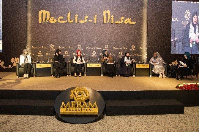 Meclis-i Nisa programının ikinci oturumu gerçekleştirildi