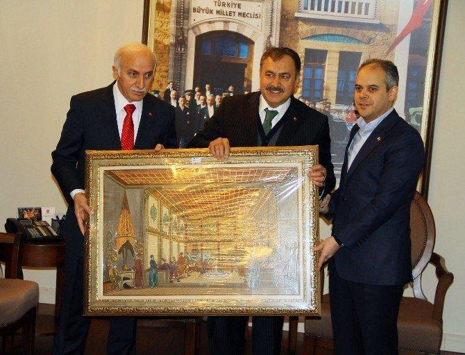 Bakan Eroğlu ve Kılıç Samsun'a müjdelerle geldi