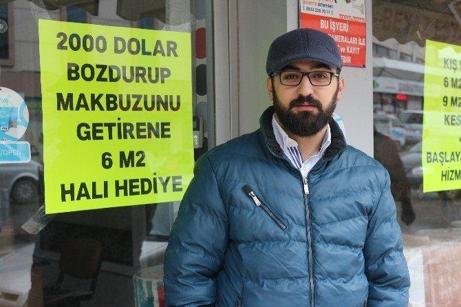 Konyalılardan TL'ye destek