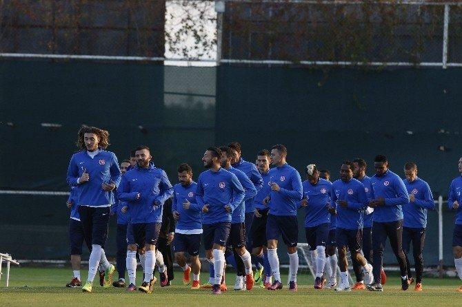 Antalyaspor'da Fenerbahçe hazırlıkları başladı