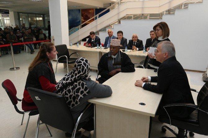 Denizli Büyükşehir'de  halk günü buluşmaları devam ediyor