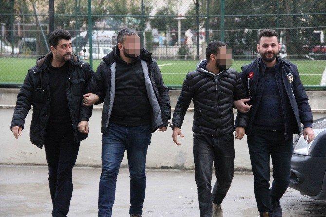 Tehdit iddiasına 6 gözaltı