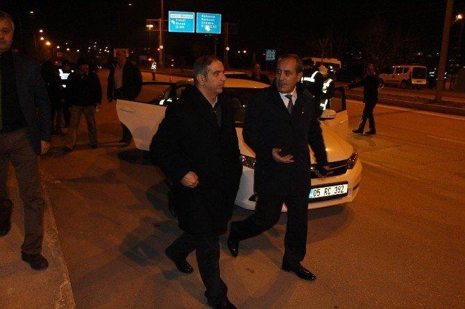 Amasya'da 260 polisle huzur operasyonu
