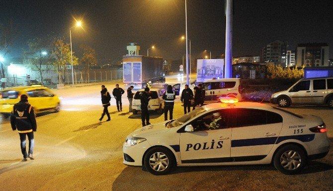 Bursa'da bin 200 polisli 'Huzur' operasyonu