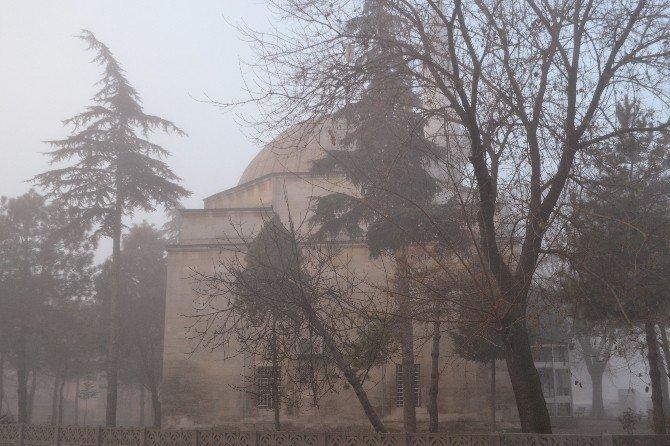 Lüleburgaz'da sis ulaşımı olumsuz etkiledi