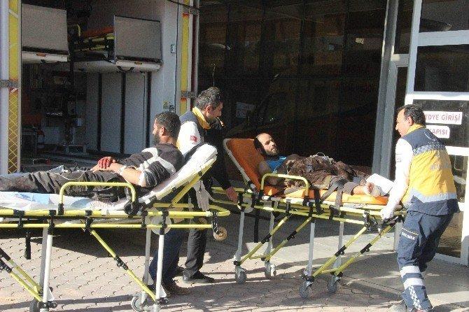 Suriye'de çatışmalarda yaralanan 7 Suriyeli Kilis'e getirildi