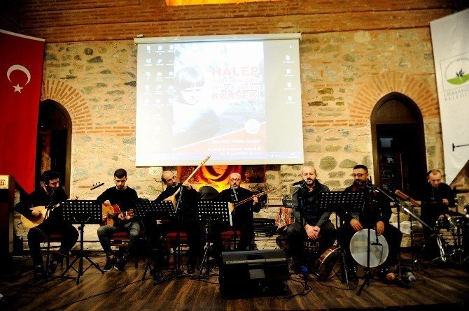 Halep için anlamlı konser