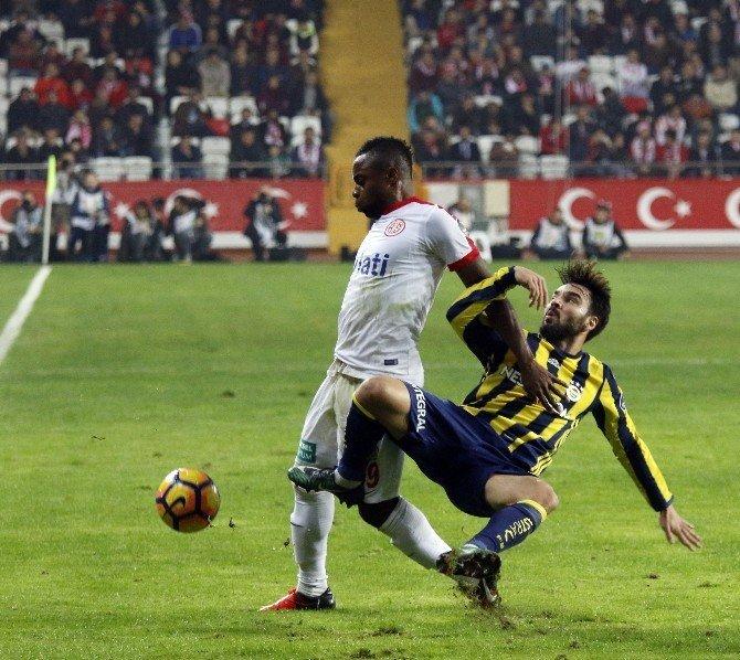 Antalyaspor, yenilgiyi unuttu