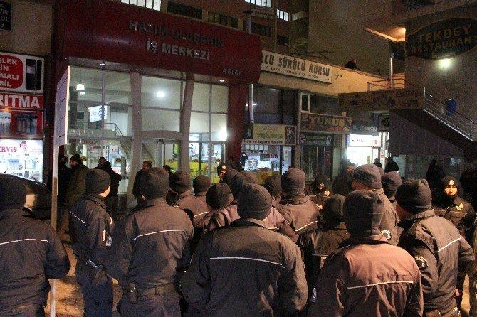 Konya'da HDP il binasına saldırı