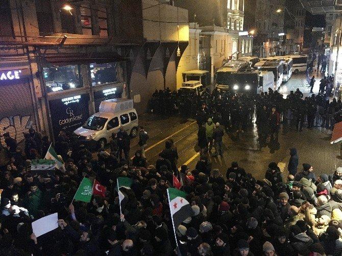 """Sivil toplum kuruluşlarından """"Halep"""" eylemi"""