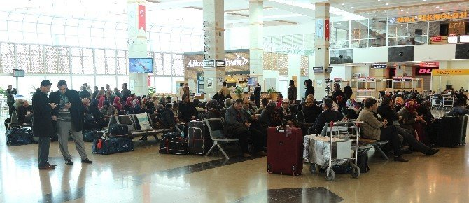 Konya'da uçuşlar başladı