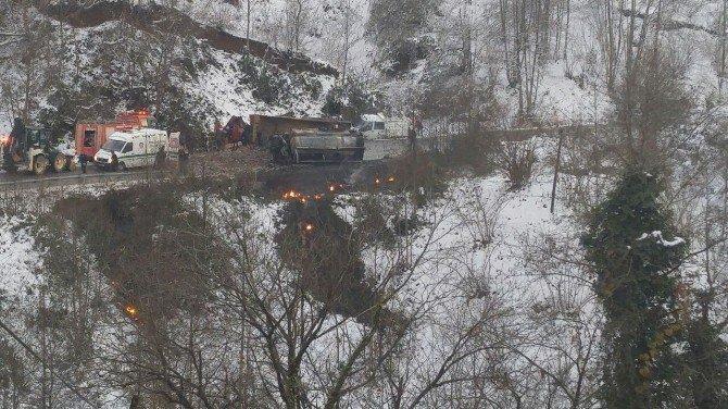 Giresun'da feci kaza: 2 ölü, 1 ağır yaralı