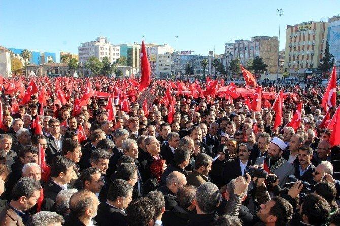 Şanlıurfa'da binlerce kişi terörü kınadı