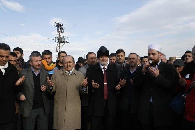 """Halep'e Yol Açın"" konvoyu Trabzon'dan dualarla yola çıktı"