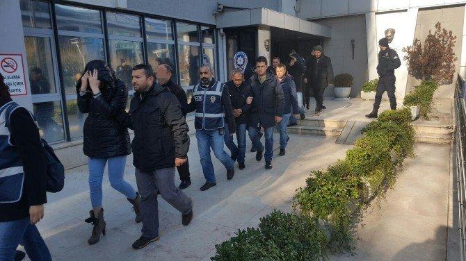 Bursa'da fuhuş operasyonunda 17 kişi gözaltına alındı