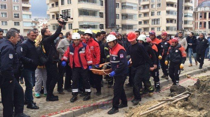 Bursa'da göçük: 1 ölü