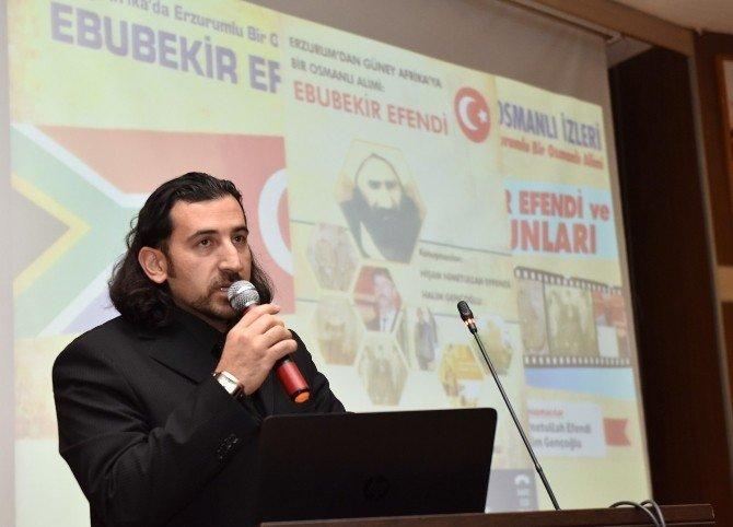 Büyükşehir Osmanlı Âlimi Ebubekir Efendi'yi Andı