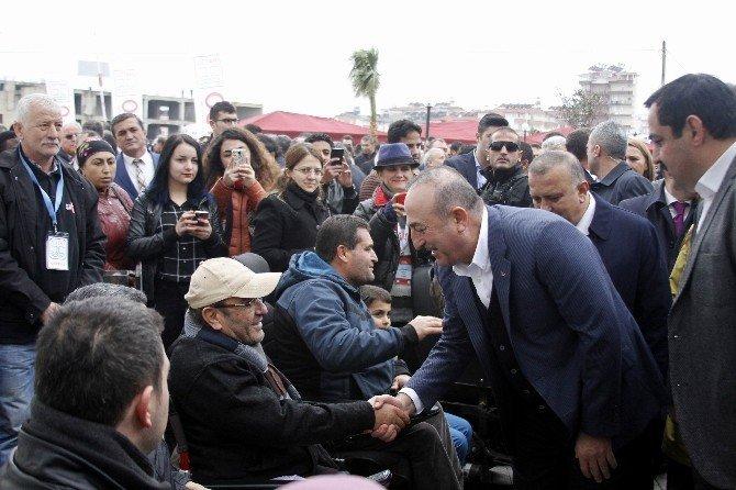 Dışişleri Bakanı Çavuşoğlu Antalya'da