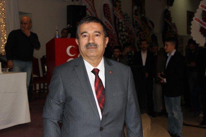 MHP İskenderun'da Başkan Bozkurt güven tazeledi