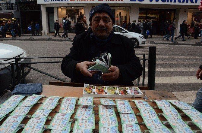 Milli piyango biletlerine vatandaşlardan büyük ilgi