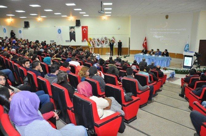 Kars Kafkas Üniversitesi'nde 15 Temmuz masaya yatırıldı