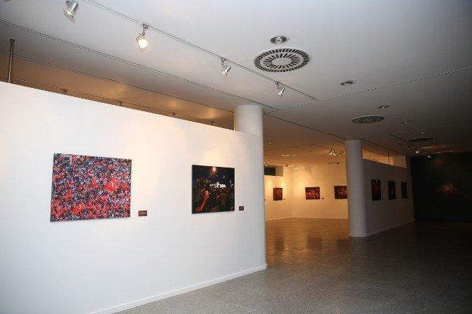 15 Temmuz Fotoğraf Yarışması'nın başarılı kareleri CKSM'de