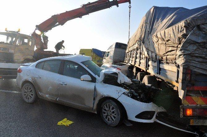 Bursa'da aksiyon filmi gibi kaza
